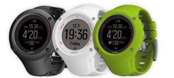 Les couleurs de la montre connectée Suunto Ambit 3 Run