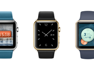 ​Apple watchOS 3 dans les smatch watch Apple.