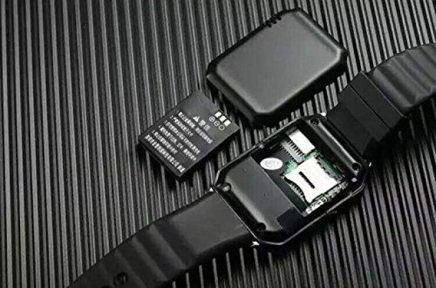 La face arrière de la DZ09 smartwatch