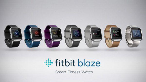 En plus des couleurs noir, bleu et prune, vous disposez d'un large choix de couleur pour personnaliser le bracelet de votre montre connectée Fitbit Blaze
