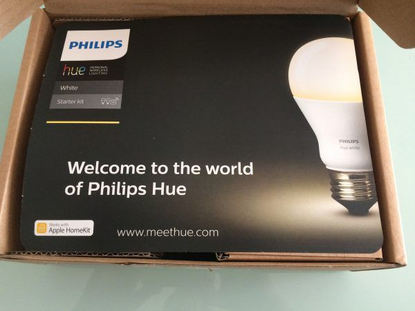 ouverture kit starter philips hue white