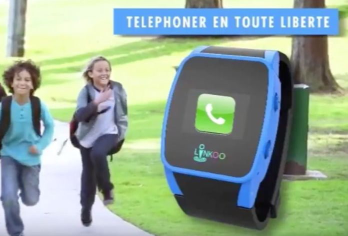 Linkoo Junior, ma montre connectee pour enfants