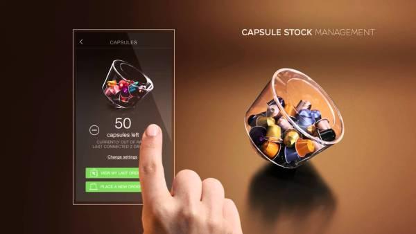 Gestion du stock de capsules via l'application mobile