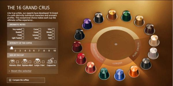 La Nespresso connectée Krups Prodigio YY5100FD Titane est livrée avec 16 capsules