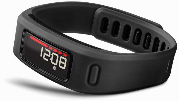 Le Garmin Vivofit, un bracelet connecté alimenté en énergie avec une plie