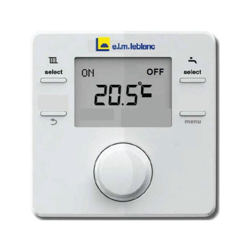 elm leblanc nsc rf thermostat sans fil avec comptage d nergie. Black Bedroom Furniture Sets. Home Design Ideas