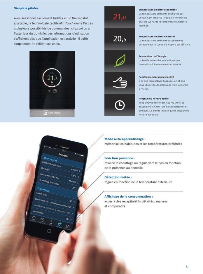 Explications des interfaces elm Touch