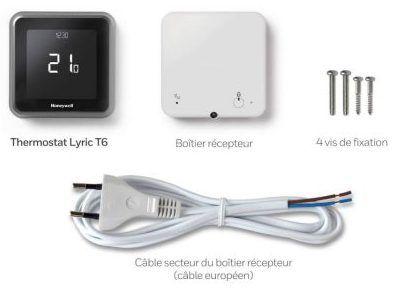 Composants du pack Lyric T6 Honeywell