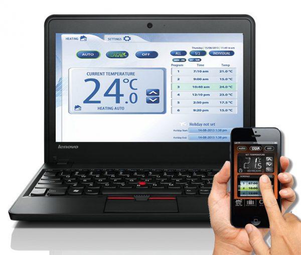 Connexion au SALUS iT500 via le Web et l'application