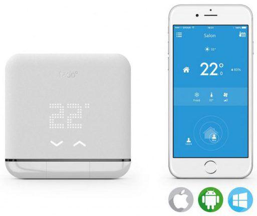 Compatibilité mobile avec le thermostat TADO AC01-TC-FR 02