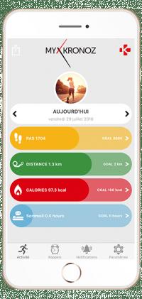 interface Application mykronoz
