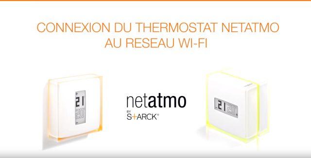 Le thermostat connecté Netatmo