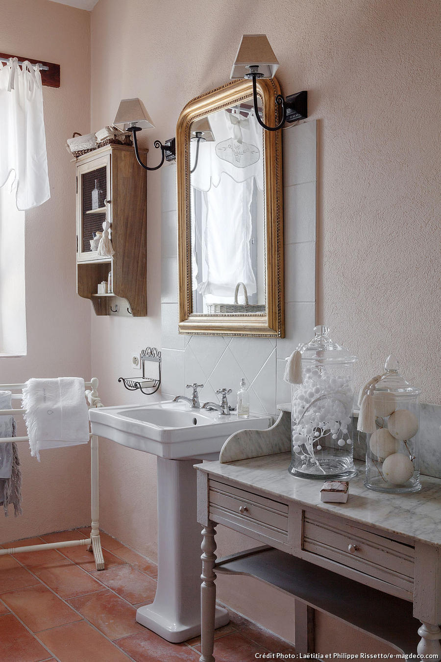 Cool Lavabo Shabby Chic With Evier Cuisine Style Ancien