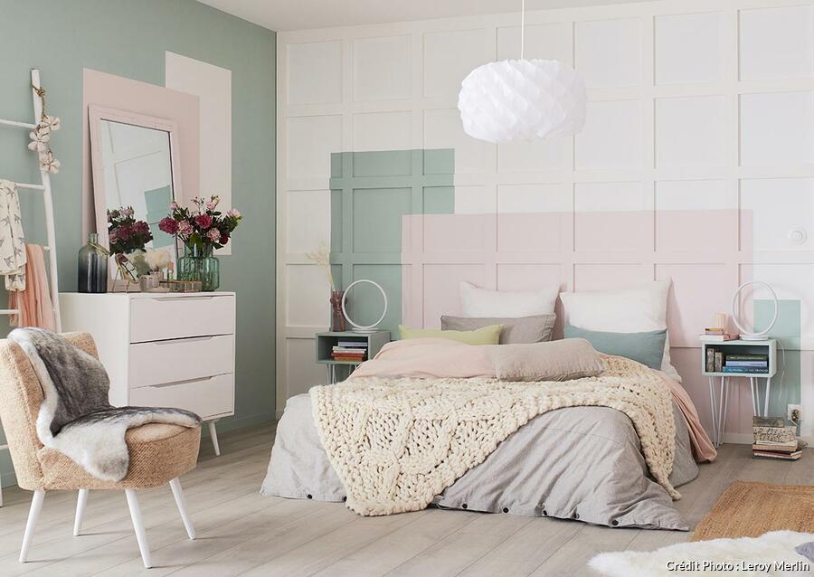 tete de lit en peinture nos idees