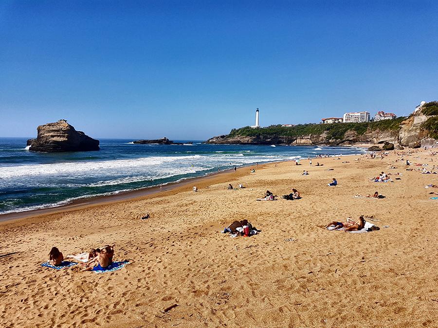 La plage de Miramar à 5min à pied