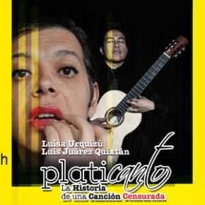 """""""l'histoire d'une chanson censurée"""", Luisa Urquizu et Luis Juarez Quixtan, le 22 octobre à 20h"""