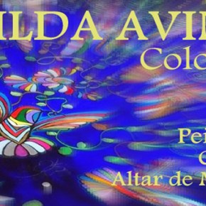 Hilda Aviña, Expo Peinture, collage,... 1 au 31 octobre 2017