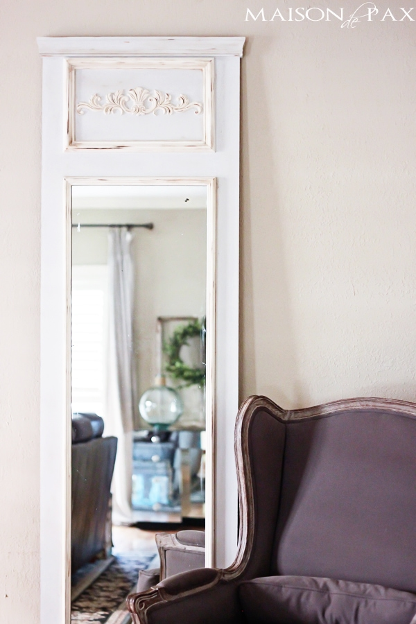 High-Heeled Love: Weekly Round-Up: How to Build a Trumeau Mirror by Maison de Pax