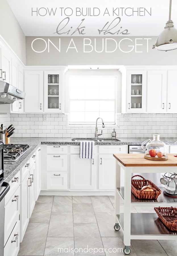 Budgeting Tips for Kitchen Renovation from Maison de Pax [#WeeklyRoundUp at @HighHeeledLove]