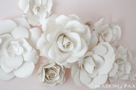 How to make paper flowers for wall decorations top artist of the diy flower garland decoration party celebration easy cheap modern cool paper flower wall template onwe bioinnovate co paper flower wall template mightylinksfo