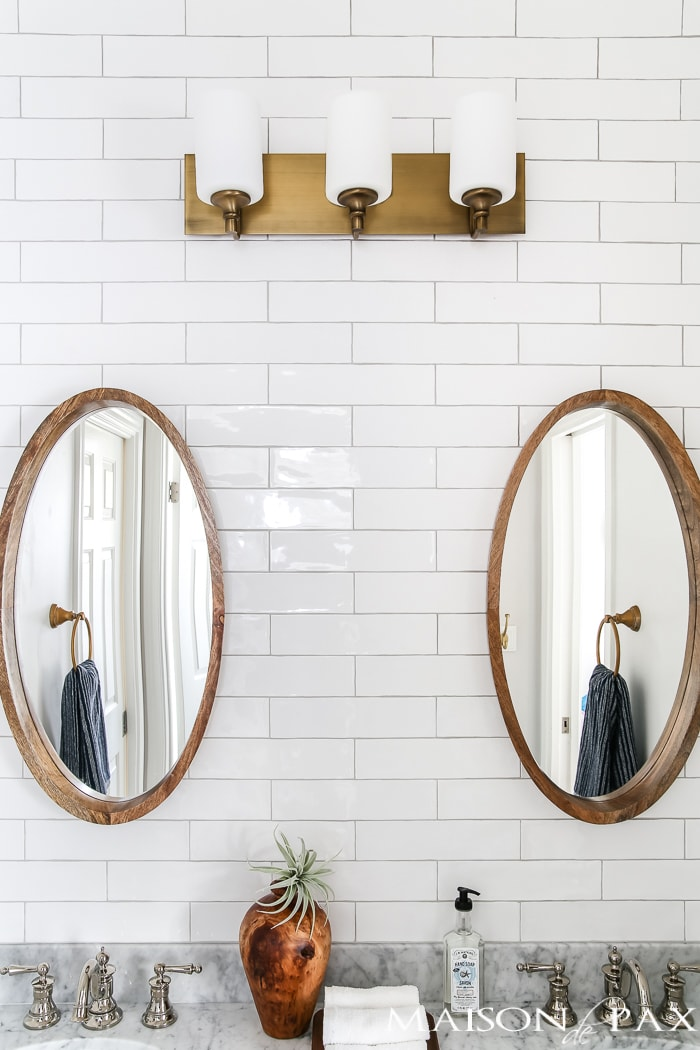 the best grout colors for subway tile