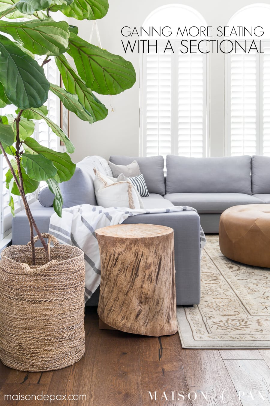 designing a small living room with a