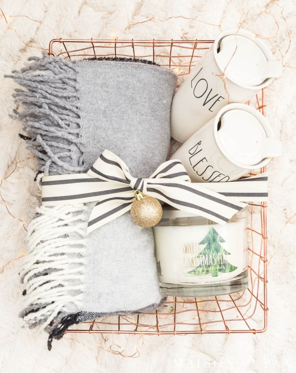 Christmas Gift Diy Basket Ideas Home And Garden Smatterings
