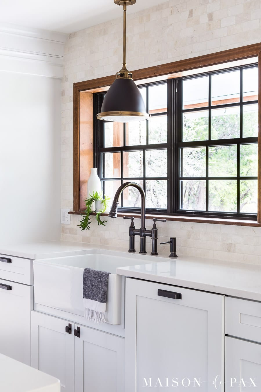 Rustic Modern Farmhouse Kitchen Reveal Maison De Pax