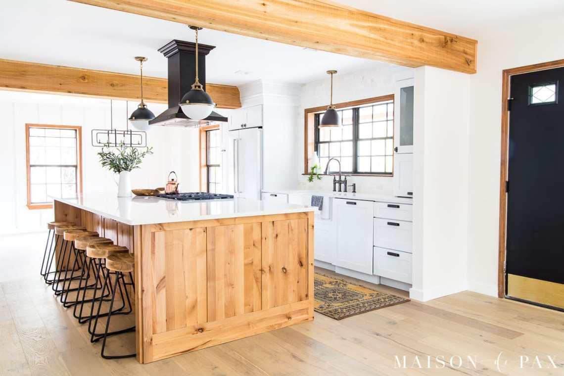 Rustic Modern Farmhouse Kitchen Reveal - Maison de Pax