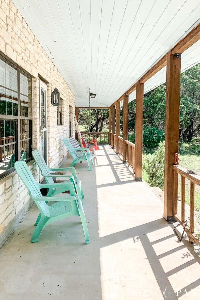 Modern Porch Posts