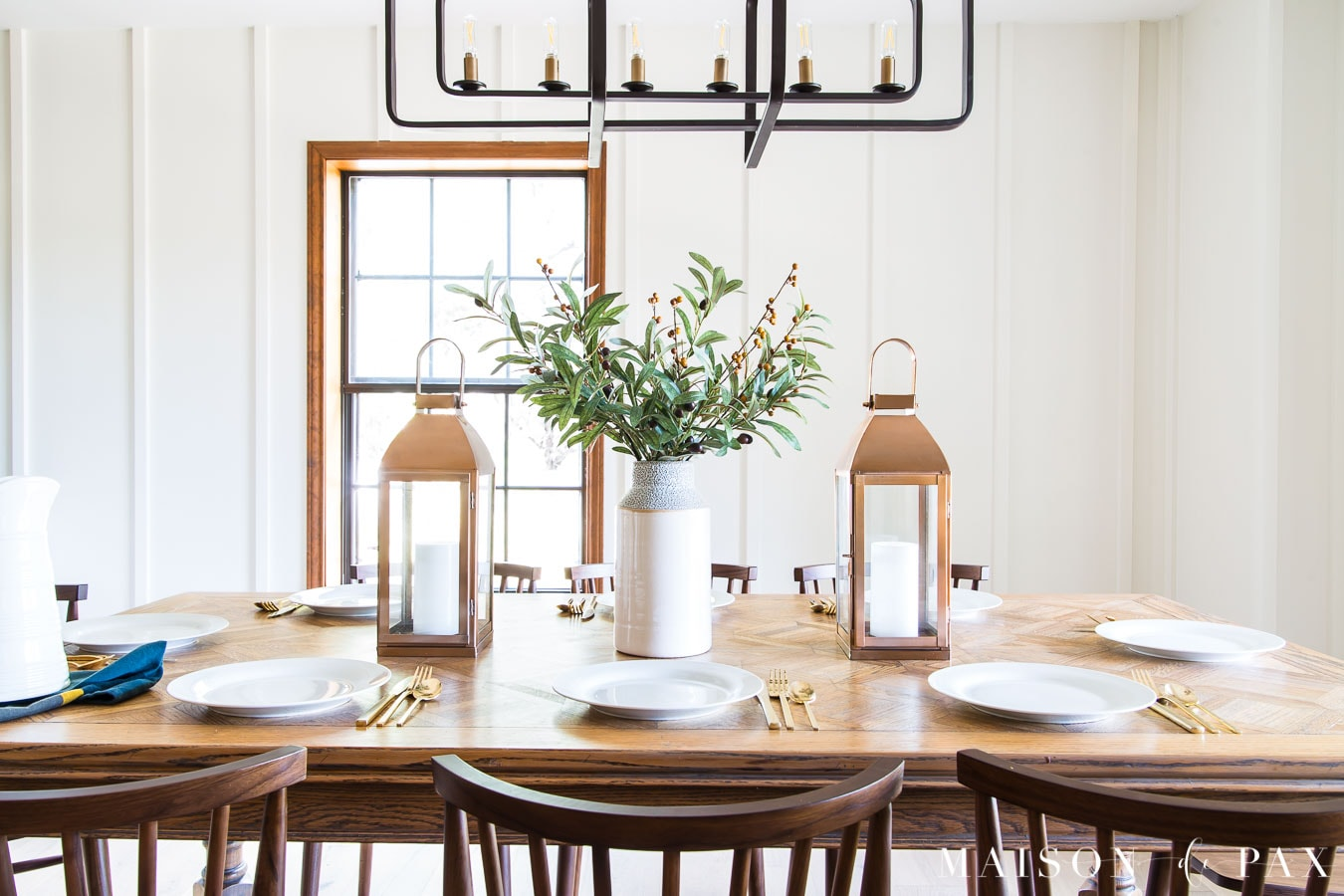 Simple Farmhouse Fall Table Maison De Pax