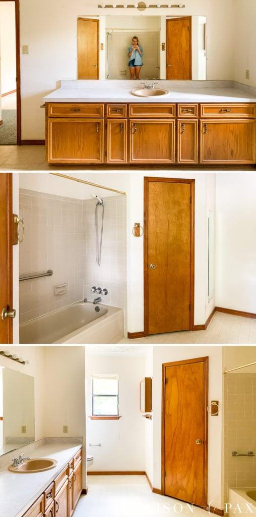 Classic Master Bathroom Design Plans - Maison de Pax