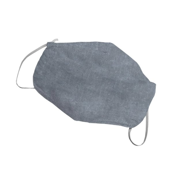 Reusable protective mask made of hemp