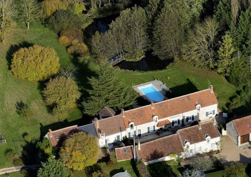 Maison d'hôtes à vendre en Centre-Val de Loire (vue aérienne)