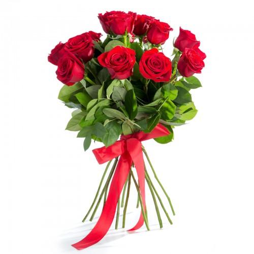 Buchet 15 Trandafiri Rosii