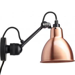 Lampe Gras applique 304-CA-NOIR-CUIVRE