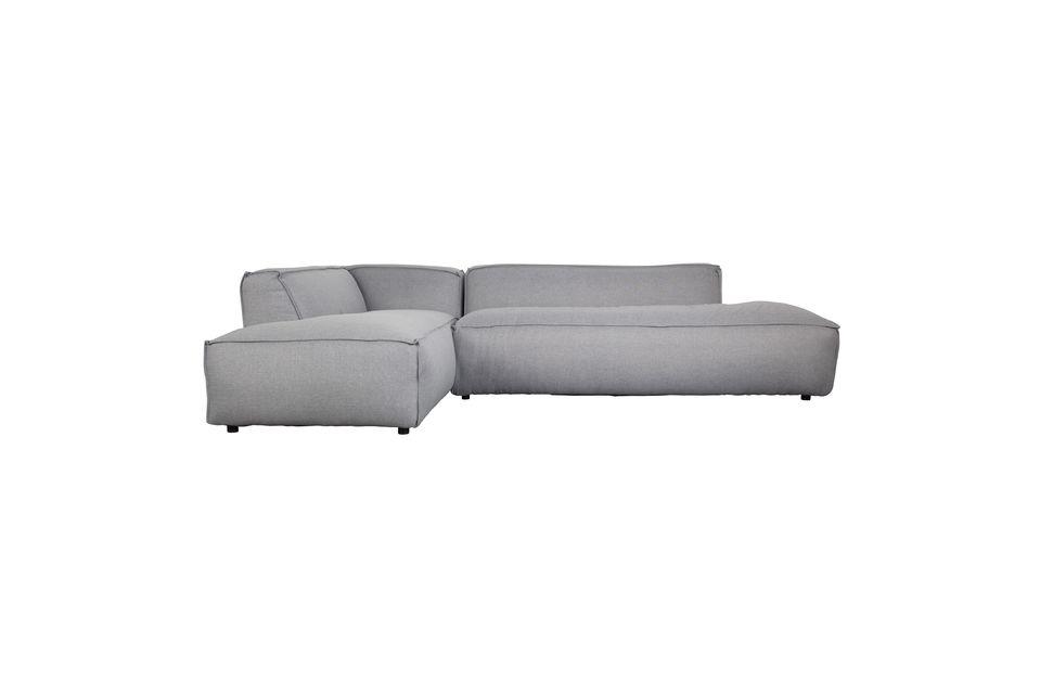 canape d angle gauche fat freddy gris clair