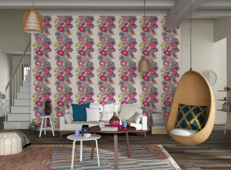 4 murs customisation papier peint