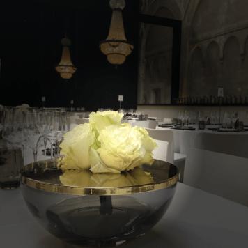 De Nacht Van Exclusief - La Brugeoise - bloemen op tafel