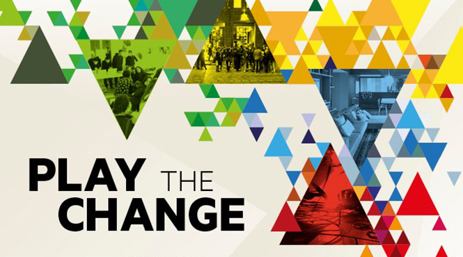 play the change