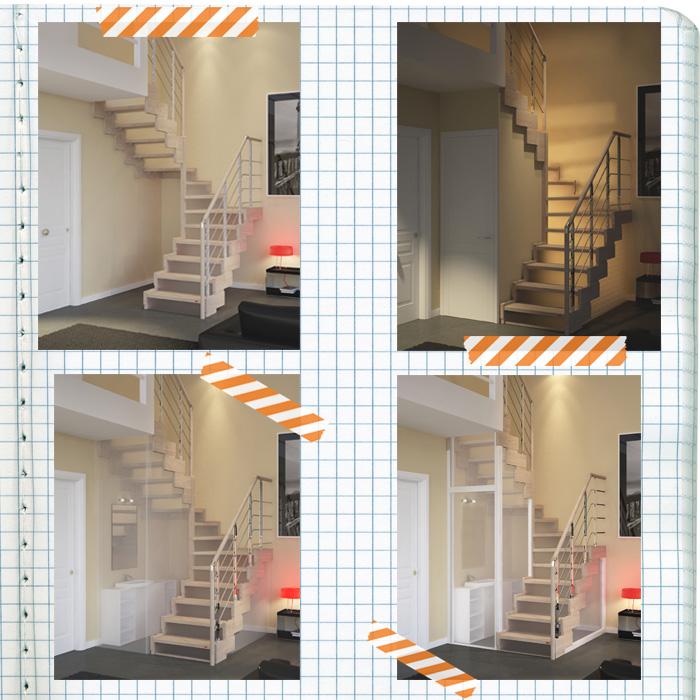 Ambienti mini? Ecco le scale salvaspazio che ti regalano 2 mq in più!