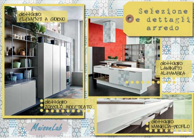 Decorazioni Cucina Moderna : Progetto di cucina design con penisola