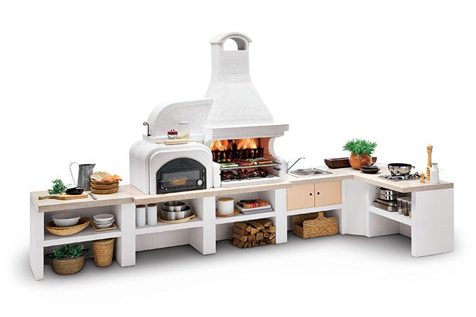 Cucine esterne e sistemi modulari flessibili maisonlab - Cucine esterne in muratura ...