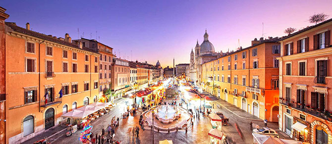 vita-notturna-roma-quartiere-Piazza-Navona