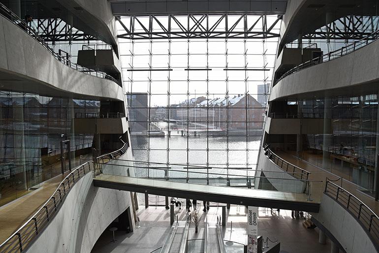 biblioteca reale copenhagen