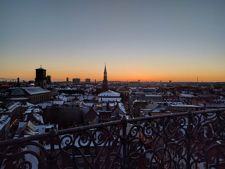 copenhagen-al-tramonto