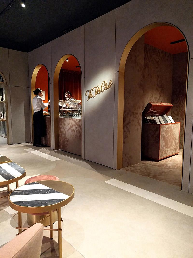 the tile club-showroom Marazzi Milano