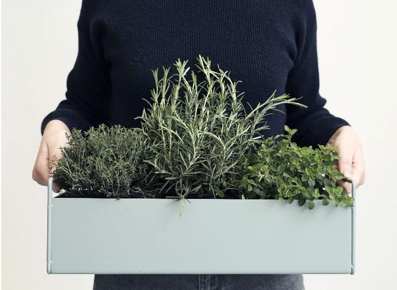 cassetta erbe aromatiche ferm living