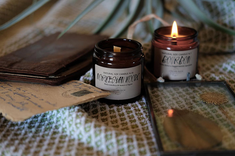 candele naturali artigianali
