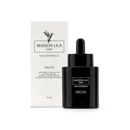 Huile d'argan bio Maison Lila, Huile végétale cosmétique bio , soin visage et cheveux 100% naturel